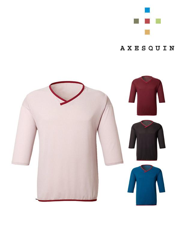 AXESQUIN,アクシーズクイン,ウロコシャツ
