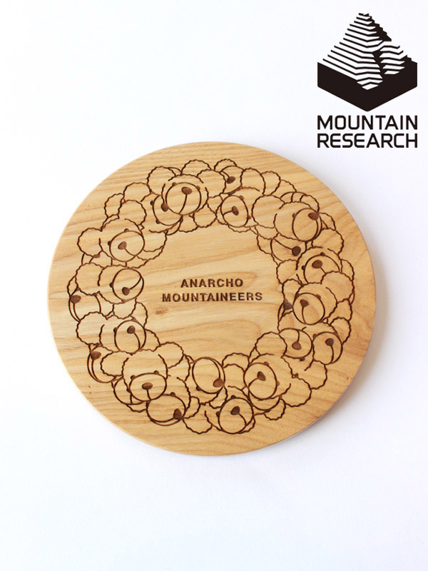 Mountain Research,マウンテンリサーチ,Wood Lid forBowl,ウッドリブ クマリース