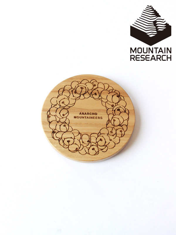 Mountain Research,マウンテンリサーチ,Wood Lid for Cup & Mug,ウッドリブ クマリース