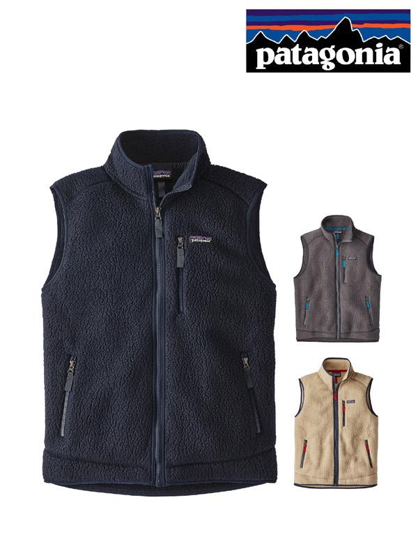 patagonia,パタゴニア,Men's Retro Pile Vest,メンズ・レトロ・パイル・ベスト