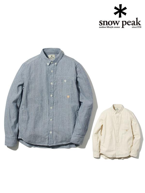 snow peak,スノーピーク,Organic OX Shirt,オーガニックオックスシャツ