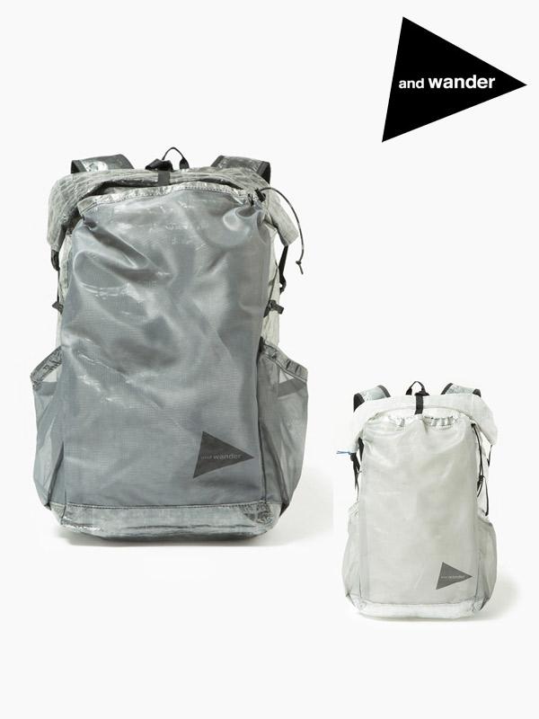 and wander,アンドワンダー,cuben fiber backpack,キューベンファイバー バックパック