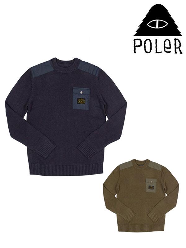 POLeR,ポーラー,Lockhart Sweater,ロックハート セーター
