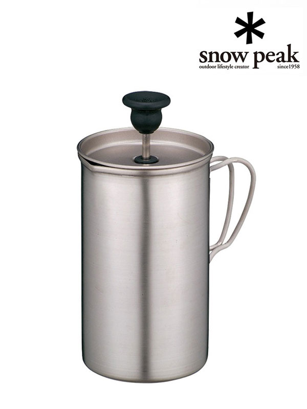 snow peak,スノーピーク,チタンカフェプレス 3カップ