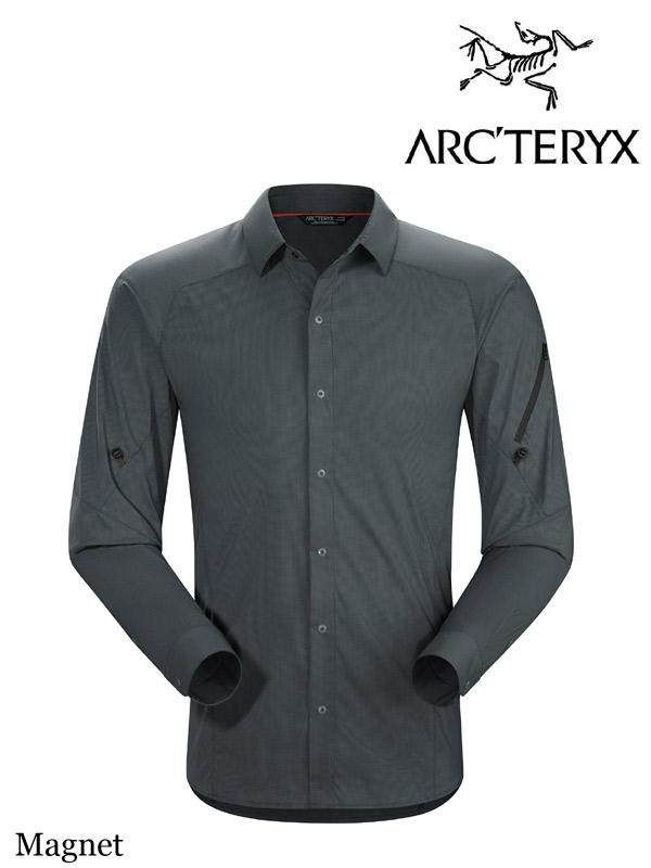 ARC'TERYX,アークテリクス,Elaho Shirt LS #Magnet,イラオ LS シャツ メンズ