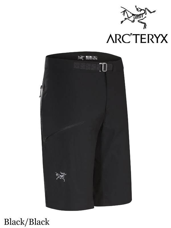 ARC'TERYX,アークテリクス, Psiphon FL Short #Black/Black ,サイフォン FL ショート メンズ