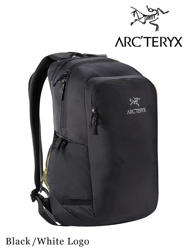 ARC'TERYX,アークテリクス, Pender Backpack #Black/White Logo ,ペンダーバックパック