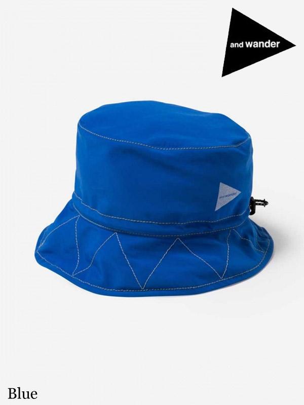 and wander,アンドワンダー ,60/40 cloth hat #Blue ,60/40 クロスハット