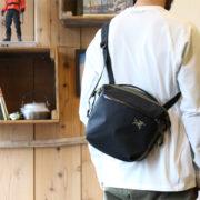 サッコシュ以上Dayパック未満のサイズ感が絶妙!Arro 8 Shoulder Bag