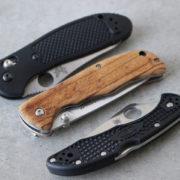 フォールディングナイフ色々。
