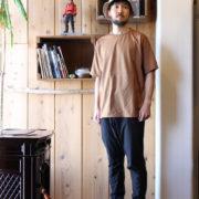個人的に今期イチオシTシャツの1つ!AXESQUIN の ハラマキTシャツ