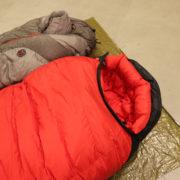 真冬でも薄着で寝たいコアキャンパー様へ!バフバフシュラフ揃ってます!!