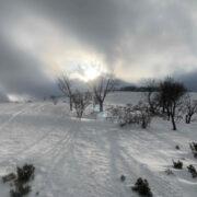冬の藤原岳へ。