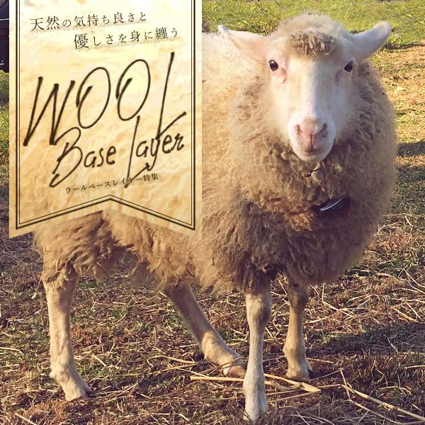 [天然の優しさ] Wool BaseLayer 特集