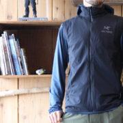絶対に必要ではないけど絶対にあると便利な ARC'TERYX Atom SL Vest