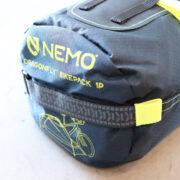 """NEMOのバイクパッキング用テント、""""ドラゴンフライ バイクパック"""""""
